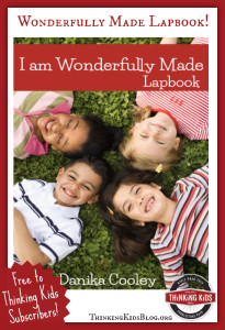 Free Wonderfully Made lapbook! Teach your kids about what Scripture AND science say about life in the womb!