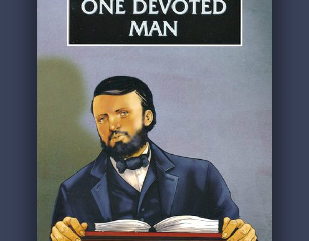 DL Moody is a great book for 8-14 year olds about the life of a man devoted to Christ