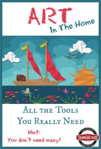 Art in the Home ~ All the Tools You Really Need (Hint: You don't need many!) ~ $63 Giveaway ends 6/3/16