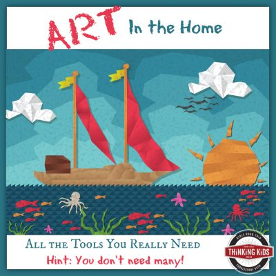 Art in the Home ~ All the Tools You Really Need