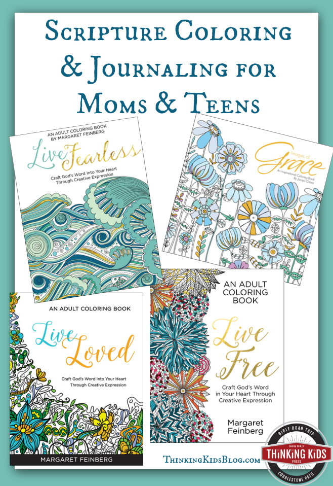 Scripture Coloring & Journaling for Moms & Teens - Thinking Kids