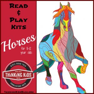 Horses Read & Play Kit for 8-12 Year Olds