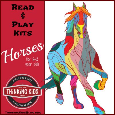 Horses for 8-12 Year Olds ~ Read & Play Kit