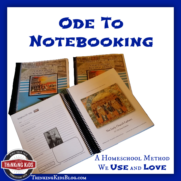 Ode to Notebooking | Why We Love Homeschool Notebooking