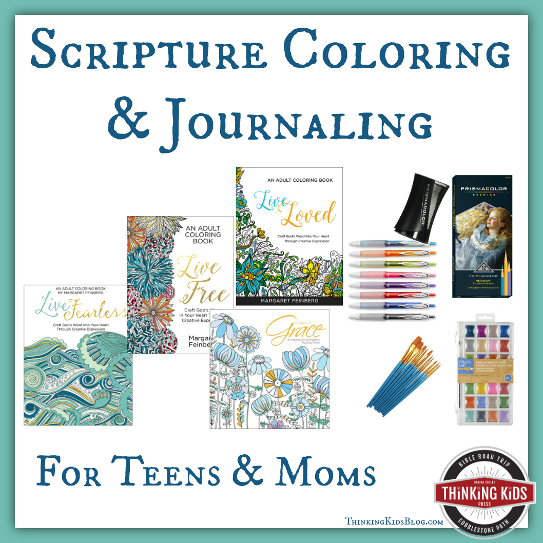 Scripture Coloring & Journaling for Moms & Teens