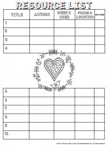 Homeschool Curriculum Planner [In Three Designs]