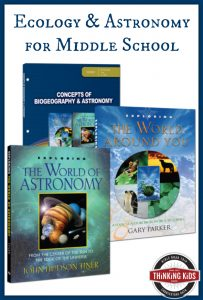 Concepts of Biogeography & Astronomy {Curriculum Overview for Middle School}