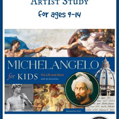 Michelangelo for Kids by Simonetta Carr