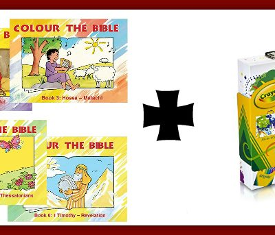 Bible Coloring Read and Play Kits
