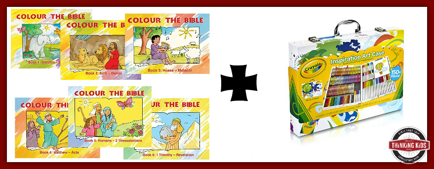 Coloring Read and Play Kits