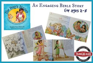 Check out this engaging Bible story for 2-8 year olds!