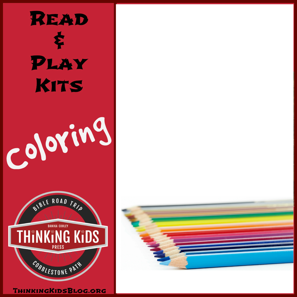 Coloring Read and Play Kits for Kids