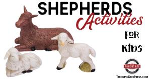 Shepherds Nativity Activities