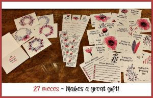 Prayer Card Set for Moms ~ 27 pieces for $5