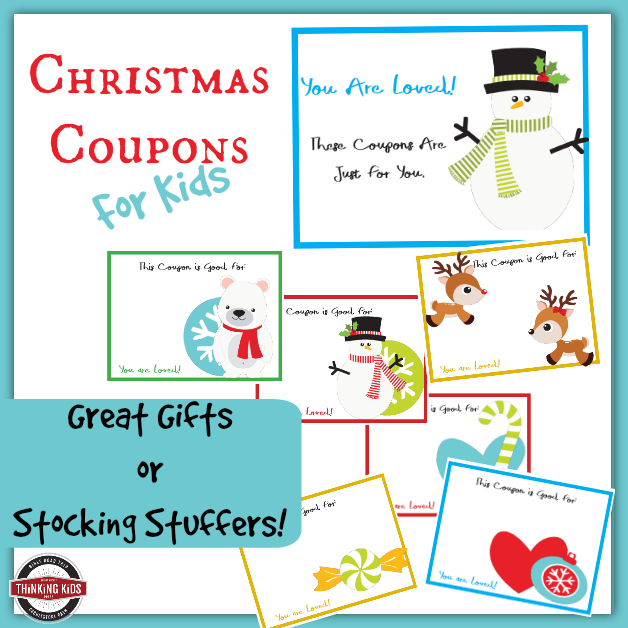 Christmas Coupons for Kids