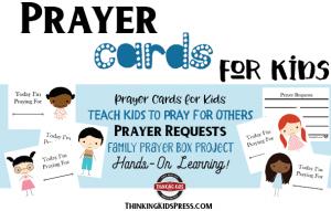 Prayer Cards for Kids