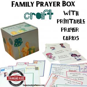 Family Prayer Box Craft With Printable Prayer Cards