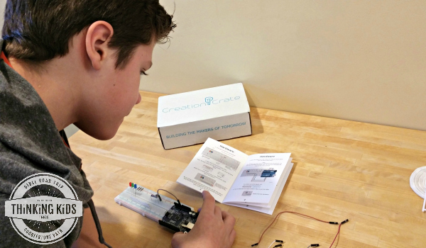 Teach Your Teen Electronics and Coding with Monthly Projects