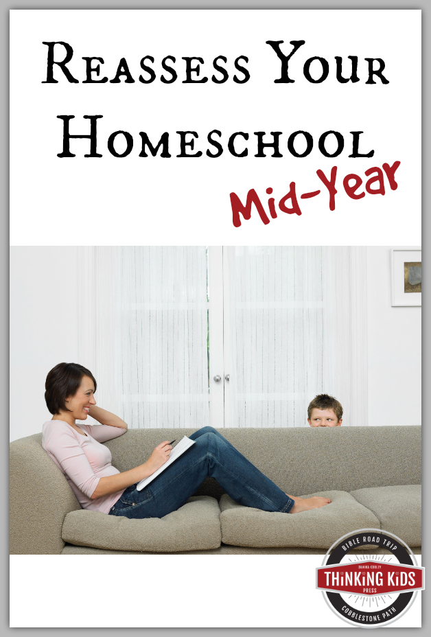 Reassess Your Homeschool Mid-Year Not only do kids grow physically during the school year, they can change a lot academically and emotionally too. The middle of your homeschool year is the perfect time to reassess your homeschool curriculum choices. Ask yourself these five questions.