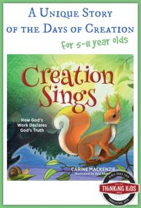 Creation Sings: A Unique Story of the Days of Creation in Genesis