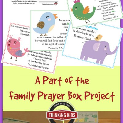 Pray for My Character Cards for Kids