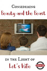 Considering Beauty and the Beast in the Light of Lot's Wife