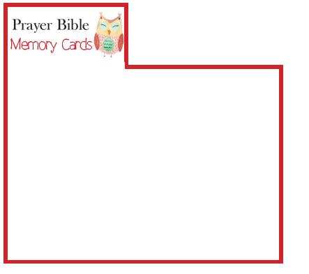 Prayer Bible Memory Verse Card Sets – Thinking Kids Press