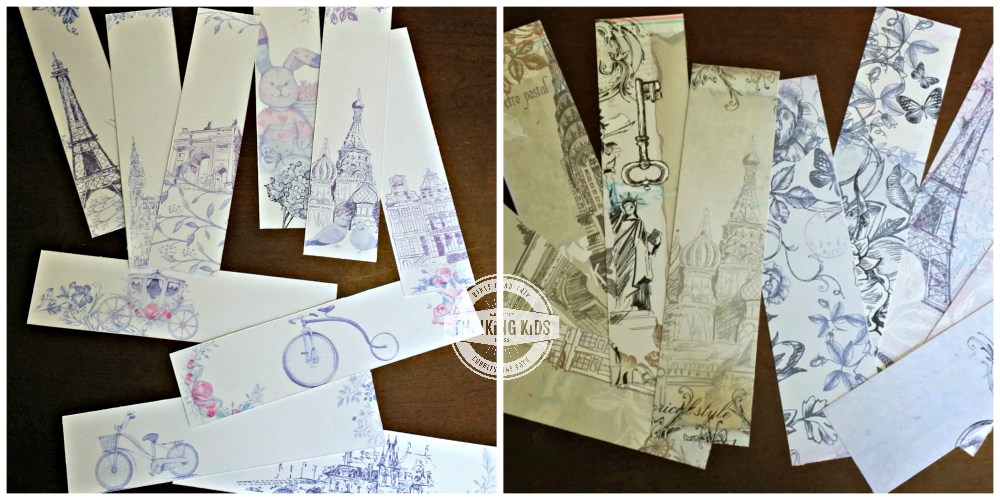 Free Printable Bookmarks to Color for Moms