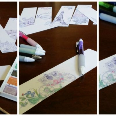 Free Printable Bookmarks to Color for Mom