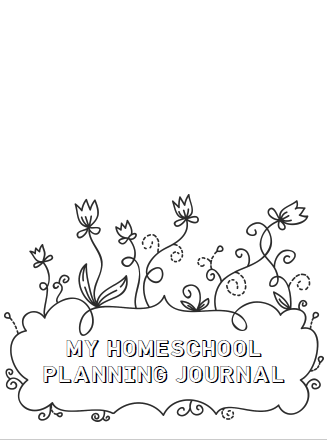 My Homeschool Planning Journal [COLORING]