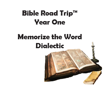 Bible Road Trip™ [Year One] KJV Bible Memory Cards: Dialectic (Grades 7-9)