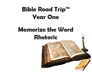 Bible Road Trip™ [Year One] KJV Bible Memory Cards: Rhetoric (Grades 10-12)