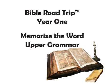 Bible Road Trip™ [Year One] KJV Bible Memory Cards: Upper Grammar (Grades 4-6)
