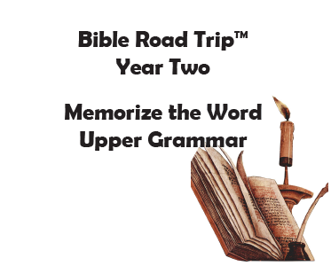 Bible Road Trip™ [Year Two] KJV Bible Memory Cards: Upper Grammar (Grades 4-6)