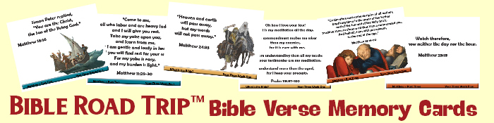 Bible Road Trip™ Bible Verse Memory Cards