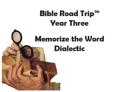 Bible Road Trip™ [Year Three] KJV Bible Memory Cards: Dialectic