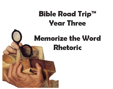 Bible Road Trip™ [Year Three] KJV Bible Memory Cards: Rhetoric