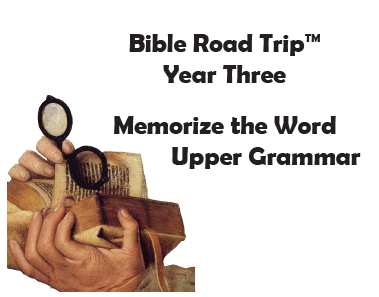 Bible Road Trip™ [Year Three] KJV Bible Memory Cards: Upper Grammar