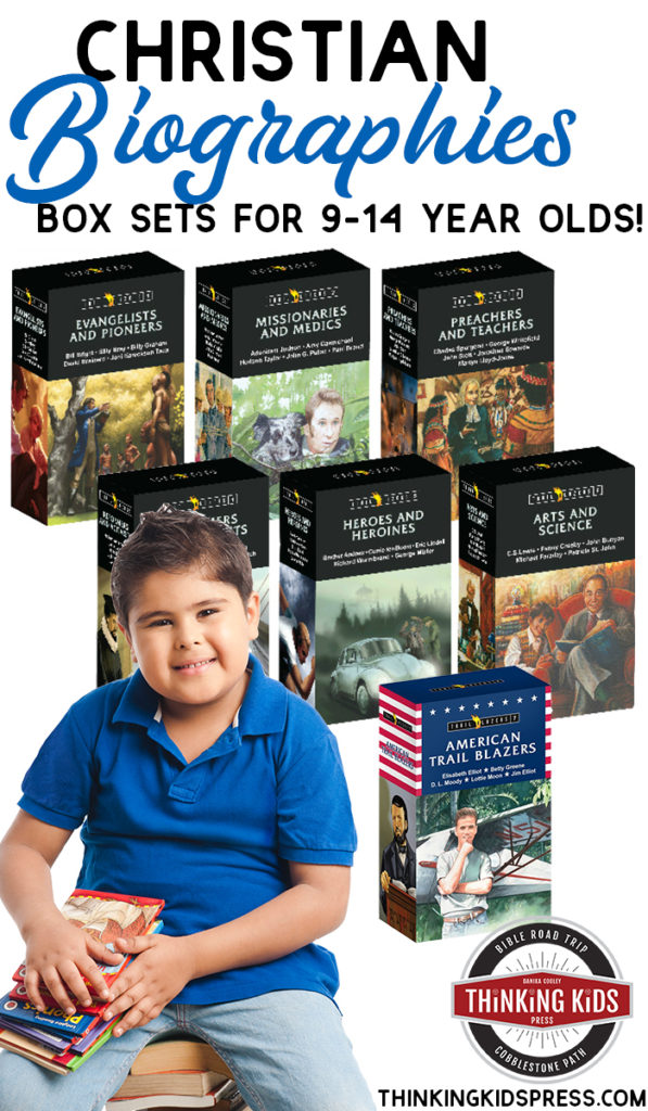 Christian Biographies for Kids | Box sets for ages 9-14!