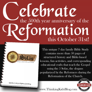 Five Solas Reformation Study Guide for Families!