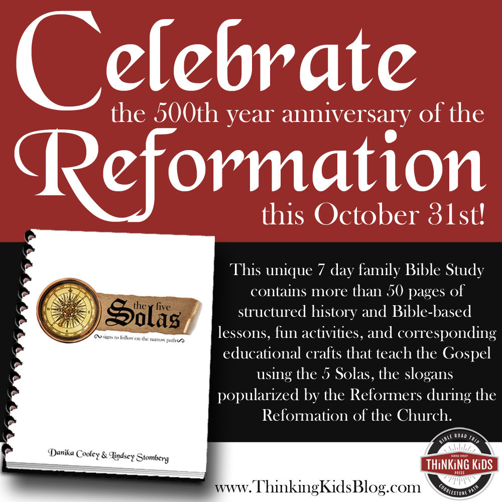 5 Solas Reformation Study Guide for Families!