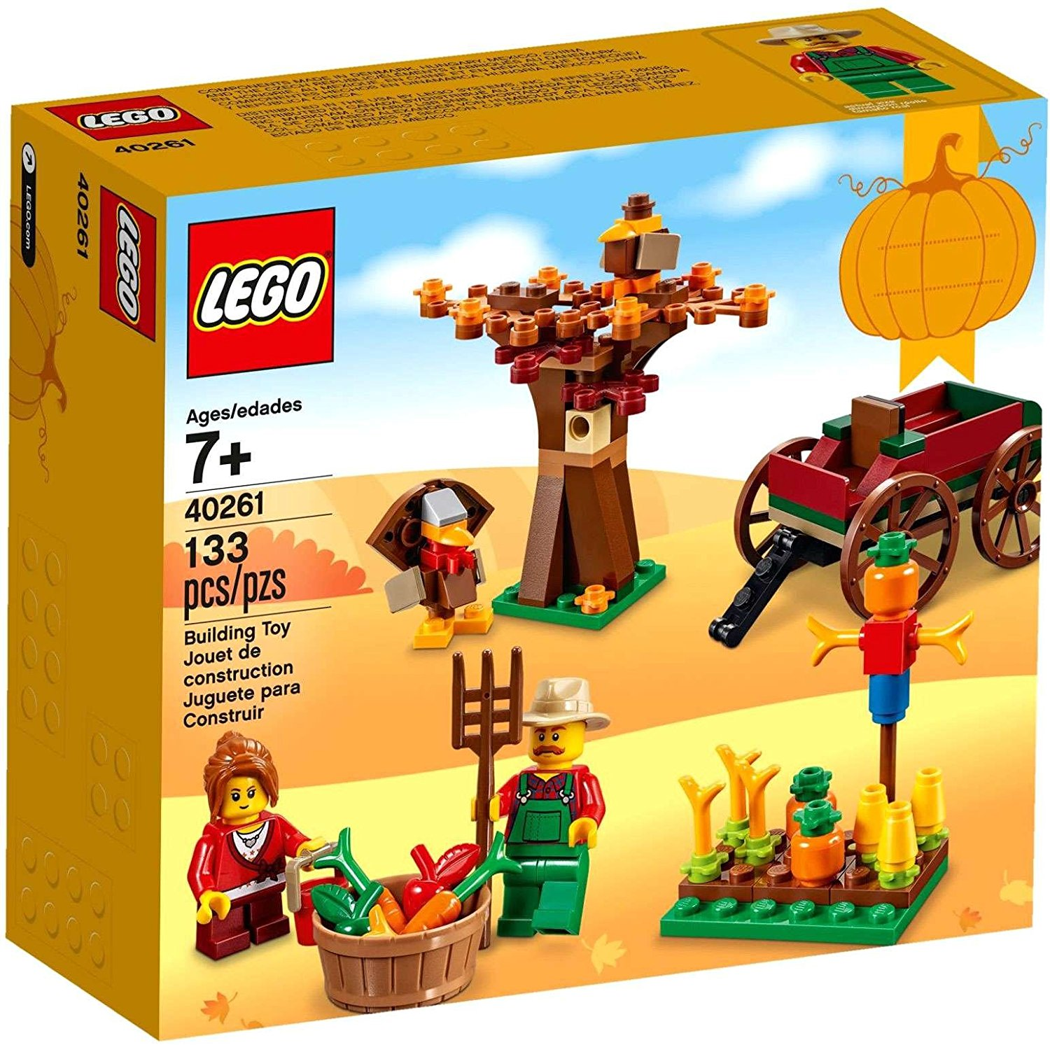 Lego Toy Food : Thanksgiving activities for kids thinking