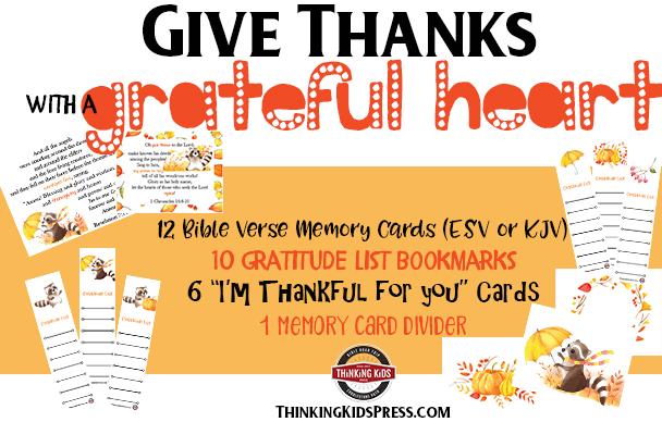 Give Thanks with a Grateful Heart Card Set
