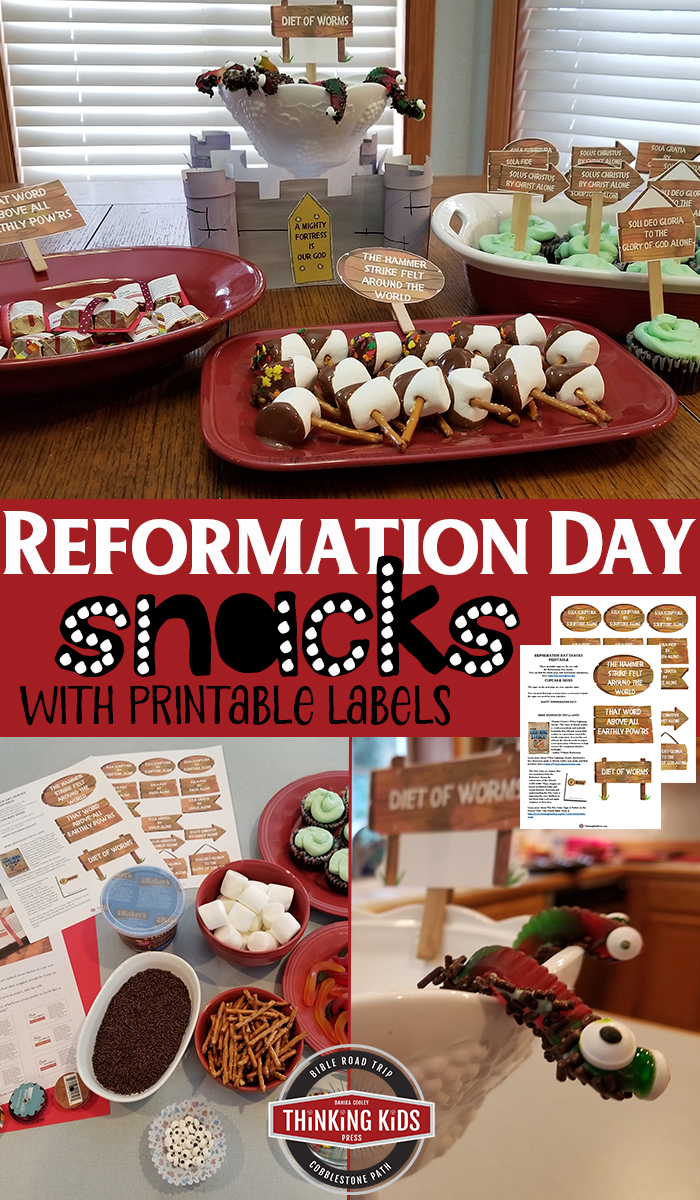 Reformation Day Snacks