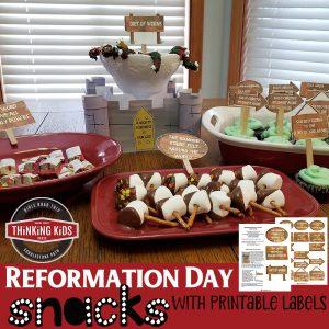 Reformation Day Snacks