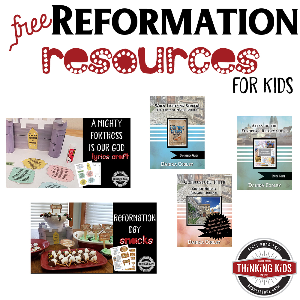Martin Luther Reformation Resources -- FREE