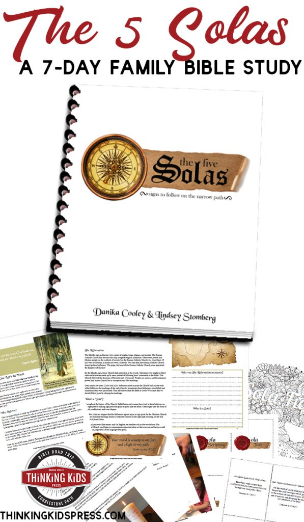 The 5 Solas | A 7-Day Family Bible Study