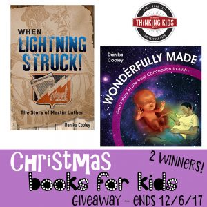 Books for Kids Christmas Giveaway - Ends 12/6/17 - 2 Winners