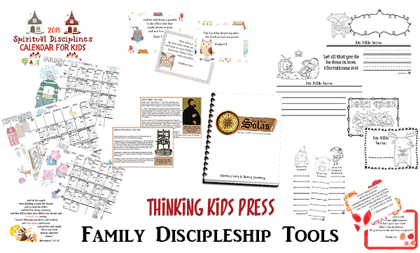 Thinking Kids Press Family Discipleship Tools