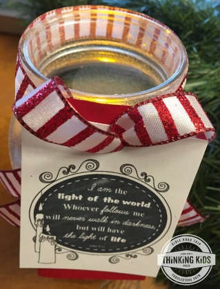 Jesus, the Light of the World Christmas Crafts for Kids
